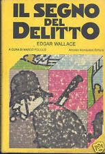 Wallace:  Il segno del delitto - Omnibus