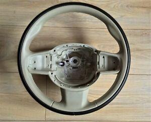 VOLVO XC90 XC60 S90 S60 V90 V60 CC Steering Wheel Leather Beige Black (31407814)