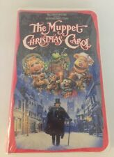 The Muppet Christmas Carol (VHS, 1993) CLAMSHELL CASE It/382