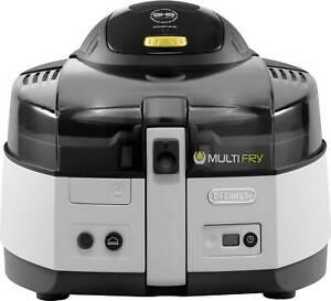 Delonghi Fryer Multifry Fh1163 (Silver)