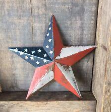 Primitive Metal Barn Star Americana 5.5 inch Country Farmhouse Decor