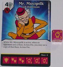 MR MXYZPTLK: 5TH DIMENSION 123/142 World's Finest Dice Masters Rare