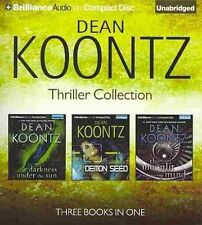 Dean Koontz Thriller Novella Collection: Darkness Under the Sun, Demon Seed, the Moonlit Mind by Dean R Koontz (CD-Audio, 2014)