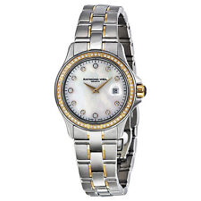 Raymond Weil Parsifal Diamond Two Tone Stainless Steel Watch 9460-SGS-97081