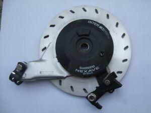 Shimano Rollenbremse roller brake BR-IM70-R große Kühlscheibe