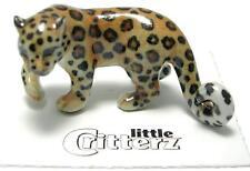 More details for little critterz miniature porcelain animal figure amur leopard
