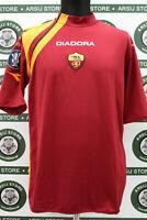 Maglia calcio TOTTI ROMA TG XL 2005/06 shirt trikot camiseta maillot jersey
