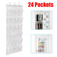 Over The Door Shoe Organizer Rack Hanging Storage Holder Hanger Bag Closet USA