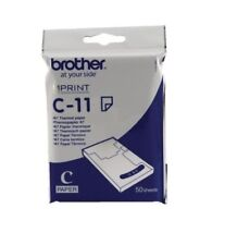 Brother A7 Thermal Printer Paper White C11 - 50 Sheets BA60626