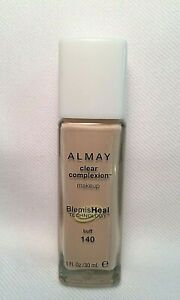 ALMAY Clear Complexion FOUNDATION Makeup ~ BUFF # 140 ~ NEW