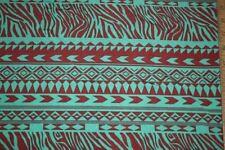 Greens Ethnic Animal ITY Print #7 Stretch Polyester Lycra Spandex Fabric BTY