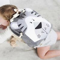 NEW KIDS BOY GIRL CHILDREN CARTOON ANIMAL SCHOOL BOOK BAG BACKPACKS SCHOOLBAG