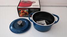 New listing Nordic Ware Pro Cast Traditions 3-Quart Dutch Oven,Color Midnight Blue, Open Bo