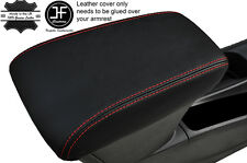RED STITCHING LEATHER ARMREST COVER FITS VAUXHALL OPEL ASTRA K MK7 2016+