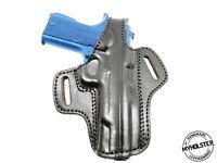 OWB Thumb Break Leather Belt Holster Fits Rock Island XT-22 1911 22LR