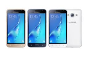 SAMSUNG GALAXY J3 2016 8GB  UNLOCKED ANDROID PHONE 4G LTE  GOLD BLACK WHITE