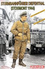 DRAGON STURMBANNFUHRER DIEFENTHAL STOUMONT 1944 1/16 Kits Soldier 1 figure model