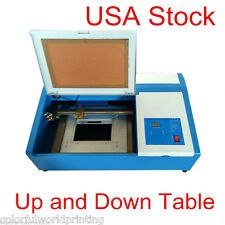 USA 50W CO2 Laser Engraving Cutter Machine with Up and Down -300mmx200mm
