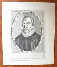 Gravure XVIIème - Johannes Buxtorf - Jean Buxtorf - Israel - Judaïsme - 2