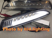 Volkswagen Scirocco DRL LED White side marker Turn signal parking light Clear