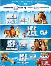 Ice Age Giftset - Blu-ray + DVD + Digital Copy - Brand new and factory sealed!