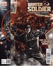 WINTER SOLDIER #1-19 SET! Marvel Comics Captain America Black Widow Avengers War