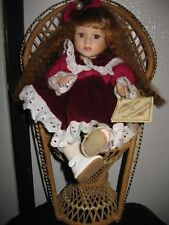 "Soft Expression Collectible Porcelain Musical Doll ~ Moves To ""Beautiful Dreamer"