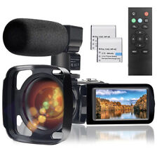 Video Camera Camcorder with Microphone, Full HD 1080P 24MP 30FPS