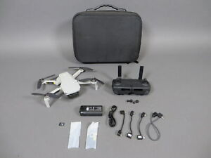 DJI Mavic Mini Camera Drone Ultra Light 249g w/Controller Battery Cords Bundle