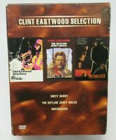 DIRTY HARRY / UNFORGIVEN /JOSEY WALES - CLINT EASTWOOD COLLECTION 3-DISC DVD SET