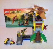 LEGO Dino Tower Takedown 5883 Complete W Manual, Pteranodon, No Box, Retired