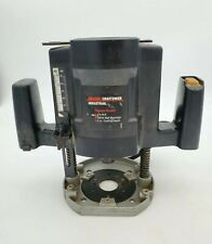 Craftsman Industrial Electronic Plunge Router 1 3/4 HP 9 Amps 315.275070 25,000