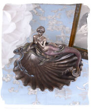 BOWL ANTIQUE STYLE MERMAID ART NOUVEAU VERONESE SOAP DISH