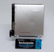 Sony Walkman MZ-RH1 HiMD MiniDisc MD player *Works*
