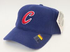 CHICAGO CUBS Size 6-7/8 Fitted MLB Cap/Hat - Blue
