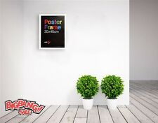 New Large 30 X 40 CM Wooden Poster Picture Photo Certificate White Frame