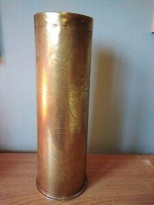 WW1 Trench Art Vase 1916