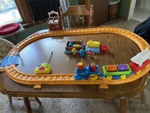 Vintage Sesame Street Elmo's Radio Control Railroad Train TYCO 1996