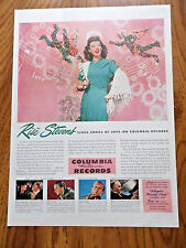 1944 Columbia Records Ad Rise Stevens 1944 Regal Shoes Ad