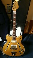 Fender Coronado II, Vintage 1967, RARE Blonde finish, split humbuckers,hard case