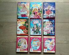 Sammlung BARBIE  9 x DVD im Cover auch die Klassiker - Reihe