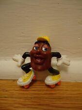 1988 Calrab for Applause California Raisin Roller Skating Figure H Cap Vintage