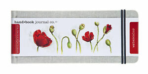 Travel Series Watercolor Journal, 3-1/2 x 8-1/4 Inches, 30 sheets
