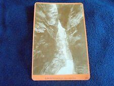OLD ALBUMEN/CABINET CARD: LIECHTENSTEIN-KLAMMEN~ca 1880~WÜRTHLE & SPINNHIRN