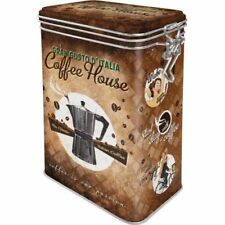BOITE METAL A CLIPS Relief COFFEE HOUSE