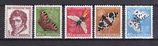 Schweiz 1956 postfrisch MiNr. 632-636  Pro Juventute  Insekten