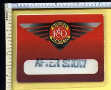Reo Speedwagon 1999/2000 Stamped After Show Backstage Pass Laminate