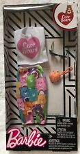 Barbie Care Bear Skirt Set, Sunglasses , purse Genuine Mattel Items Nrfp