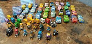 Disney Pixar Cars Diecast Lot of 44 cars. Various Disney race cars. Lot #3