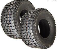2) 18x8.50-8 Golf Cart Turf Tire on White Wheel P512 /4PR Journey G8852-W